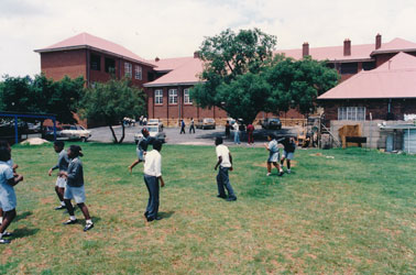 Students at PELMAMA ACADEMY's Eastside College Campus in Troyeville