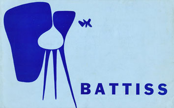 Battiss exhibition at Lawrence Adler Galleries, Johannesburg, 1960 (cover)