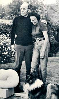 Eben and Polly Leibbrandt in 1972